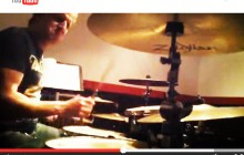 Mark Feldman working on his Vic Firth 15 second video clip